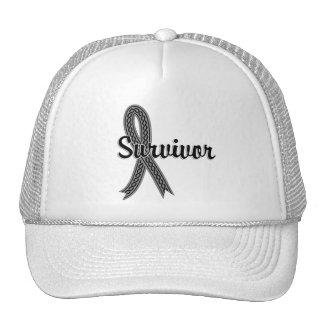 Survivor 17 Brain Cancer Hat