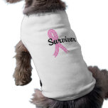 Survivor 17 Breast Cancer Pet T-shirt