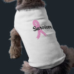 """Survivor 17 Breast Cancer Tee<br><div class=""""desc"""">To see this design for over 35 more cancer types as well as our complete Breast Cancer Survivor Collection, please visit the Breast Cancer Section of a specialty shop of Breast Cancer survivors, celebrate your Victory while delivering the important message of Breast Cancer awareness to everyone around you with Cancer...</div>"""