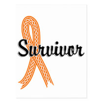 Survivor 17 Kidney Cancer Postcard