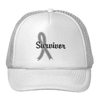 Survivor 17 Lung Cancer Trucker Hat