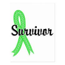 Survivor 17 Lymphoma (Non-Hodgkin's) Postcard