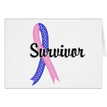 Survivor 17 Male Breast Cancer Card