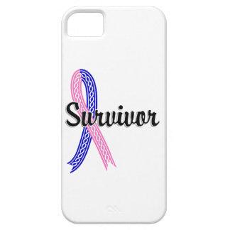 Survivor 17 Male Breast Cancer iPhone SE/5/5s Case