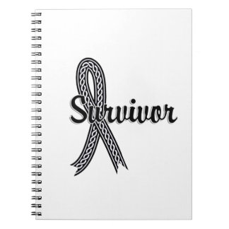 Survivor 17 Melanoma Spiral Note Book