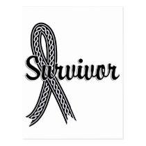 Survivor 17 Melanoma Postcard
