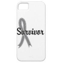 Survivor 17 Mesothelioma iPhone SE/5/5s Case