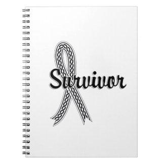 Survivor 17 Mesothelioma Notebooks
