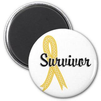 Survivor 17 Neuroblastoma Magnet