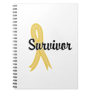 Survivor 17 Neuroblastoma Spiral Notebook