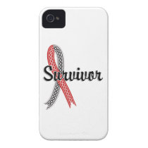 Survivor 17 Oral Cancer iPhone 4 Cover