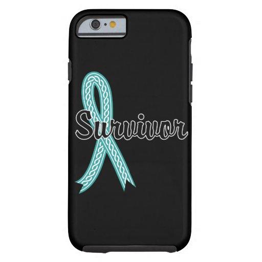 Survivor 17 Ovarian Cancer iPhone 6 Case