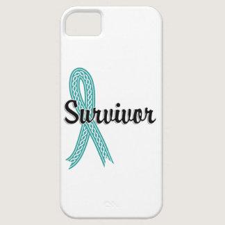 Survivor 17 Ovarian Cancer iPhone SE/5/5s Case
