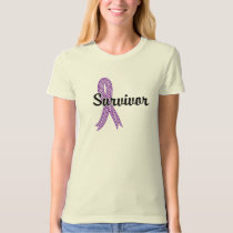 Survivor 17 Pancreatic Cancer T-Shirt