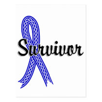 Survivor 17 Rectal Cancer Postcard