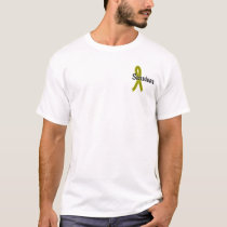 Survivor 17 Testicular Cancer T-Shirt