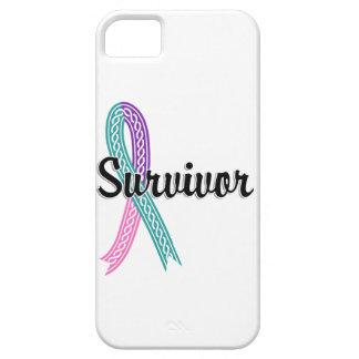 Survivor 17 Thyroid Cancer iPhone SE/5/5s Case
