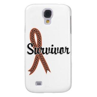Survivor 17 Uterine Cancer Galaxy S4 Cover