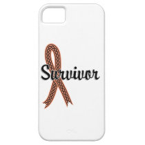 Survivor 17 Uterine Cancer iPhone SE/5/5s Case