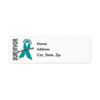 Survivor 1 Ovarian Cancer Label