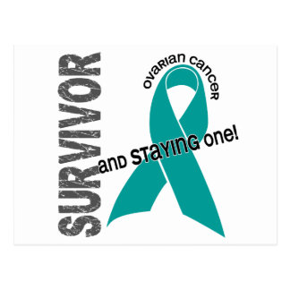 Survivor 1 Ovarian Cancer Postcard
