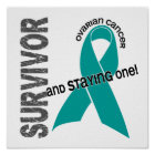 Survivor 1 Ovarian Cancer Poster
