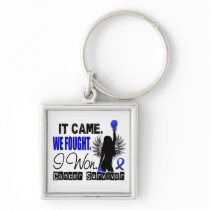 Survivor 22 Anal Cancer Keychain