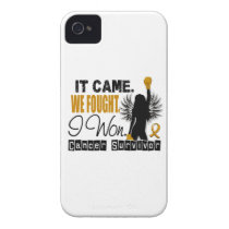 Survivor 22 Appendix Cancer Case-Mate iPhone 4 Case