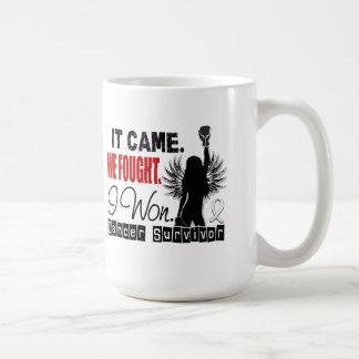Survivor 22 Bone Cancer Classic White Coffee Mug