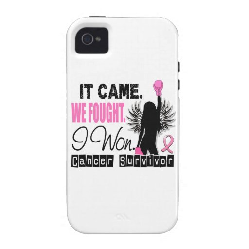 Survivor 22 Breast Cancer Case For The iPhone 4