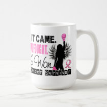 Survivor 22 Breast Cancer Coffee Mug