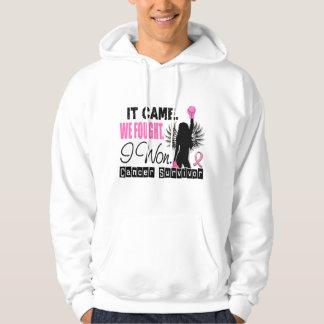 Survivor 22 Breast Cancer Hoodie