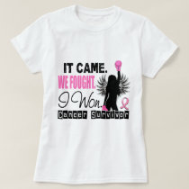 Survivor 22 Breast Cancer T-Shirt