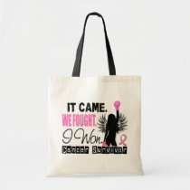 Survivor 22 Breast Cancer Tote Bag