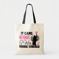 Survivor 22 Breast Cancer Tote Bag