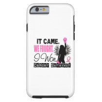 Survivor 22 Breast Cancer Tough iPhone 6 Case