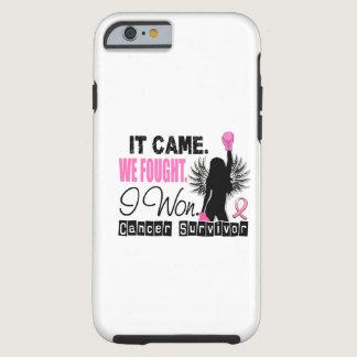 Survivor 22 Breast Cancer Tough iPhone 6 Case