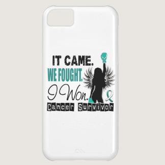 Survivor 22 Cervical Cancer Cover For iPhone 5C