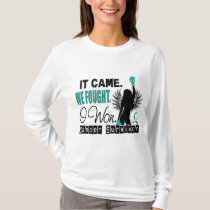 Survivor 22 Cervical Cancer T-Shirt