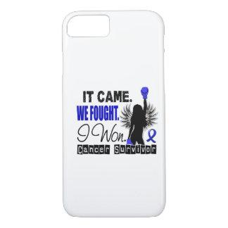 Survivor 22 Colon Cancer iPhone 7 Case