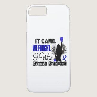 Survivor 22 Colon Cancer iPhone 8/7 Case