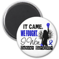 Survivor 22 Colon Cancer Magnet