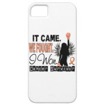 Survivor 22 Endometrial Cancer iPhone SE/5/5s Case