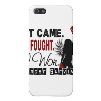 Survivor 22 Head And Neck Cancer iPhone 5 Cover