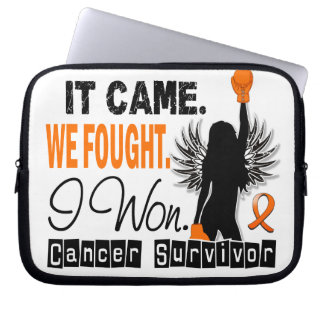 Survivor 22 Leukemia Computer Sleeve