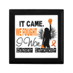 Survivor 22 Leukemia Gift Box