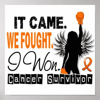 Survivor 22 Leukemia Poster