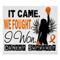 Survivor 22 Leukemia Poster