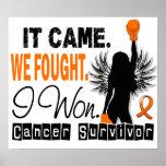 Survivor 22 Leukemia Posters