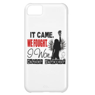 Survivor 22 Lung Cancer iPhone 5C Cover